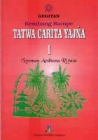 Gegitan Kembang Rampe Tatwa Carita Yadnya I