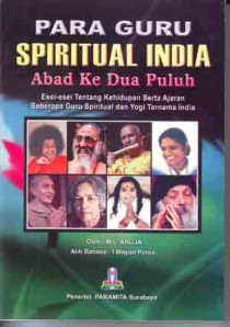 Para Guru Spiritual India Abad Ke Dua Puluh