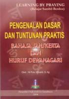 Pengenalan Dasar dan Tuntunan Praktis Bahasa Sansekerta dan Huruf Dewanagari